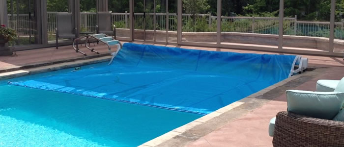 Save Water with Pool Covers