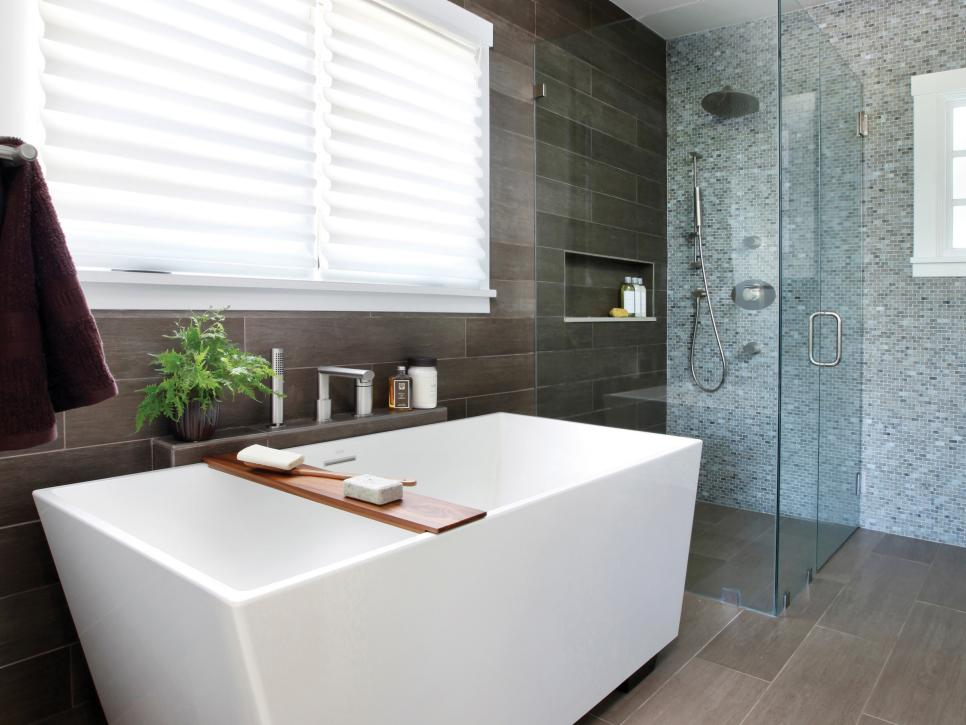 Modern Bathroom Renovation Project In Orangevale Ca Maxton Builders - Materials for bathroom renovation