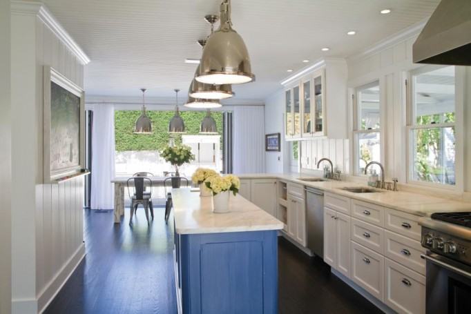 Home Remodeling Design A Painted Kitchen Island Amazing