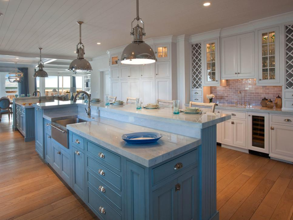 Coastal Kitchen Designs Maxton Builders