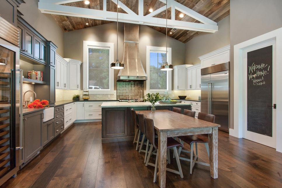 Rustic Kitchen Designs – Maxton Builders